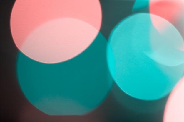 Bokeh bonito e colorido das luzes para o sumário do fundo.