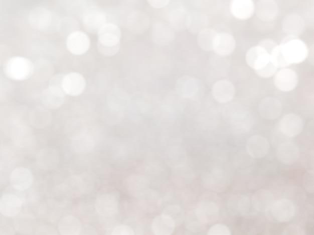 Bokeh branco defocused fundo da luz azul