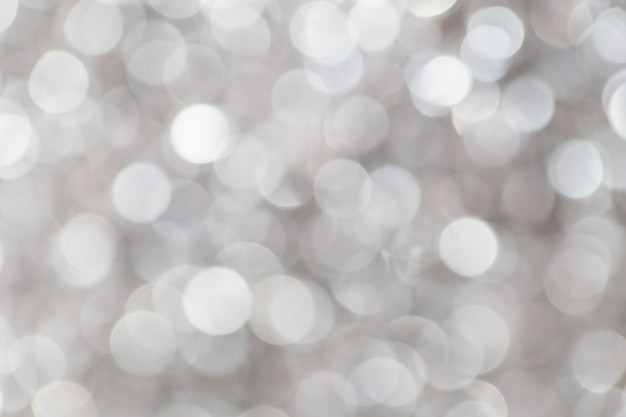Bokeh branco do borrão da pérola para o fundo, conceito luxuoso.