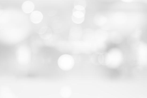 Bokeh brilhante preto e branco abstrato