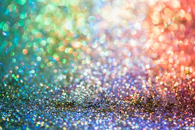 Bokeh brilho colorfull turva abstrato para aniversário