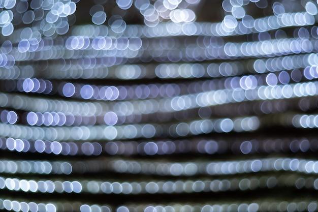Bokeh circular abstrato de luz turva