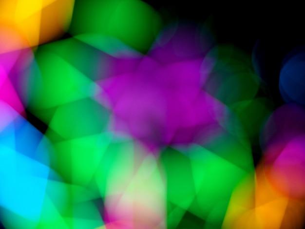Bokeh colorido arco-íris fundo overlay textura