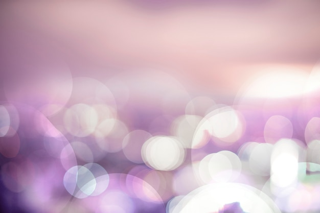 Bokeh colorido luzes de fundo