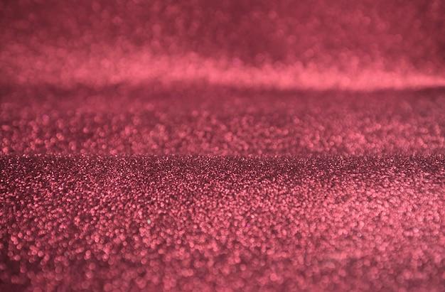 Bokeh de glitter rosa ouro luzes de fundo