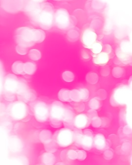 Bokeh de luz no fundo fucsia, cores vivas