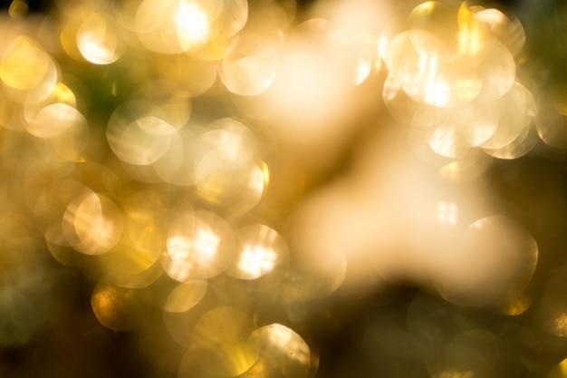 Bokeh de ouro em celebridades de natal