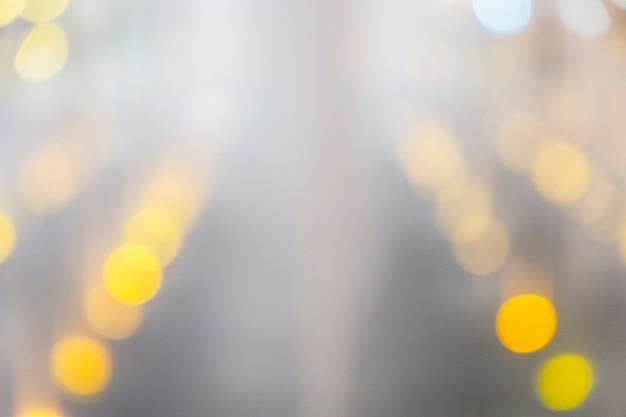 Bokeh desfocado luz, abstrato à noite
