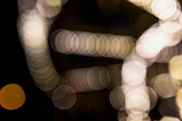 Bokeh festivo desfocado luz de fundo