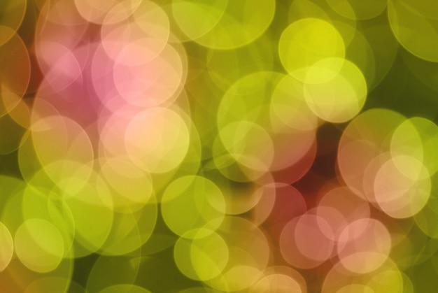 Bokeh. fundo abstrato para desing. feito a partir de quatro fotos.