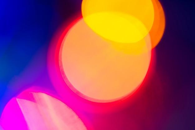 Bokeh - fundo desfocado abstrato - vazamentos de luz