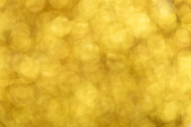 Bokeh light of gold glitters