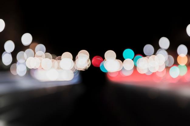 Bokeh luz de fundo abstrato