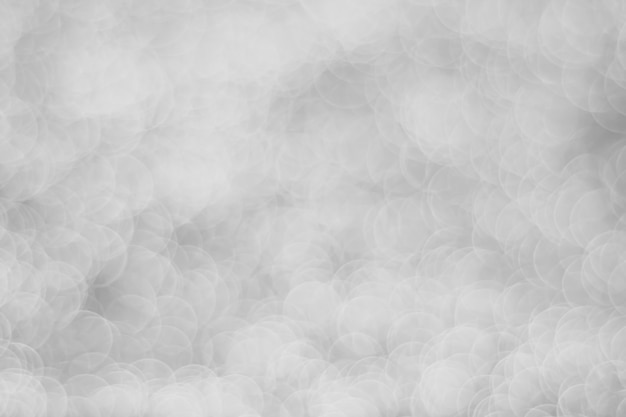 Bokeh luz prata abstrato turva fundo