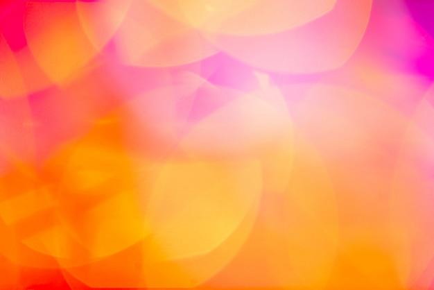 Bokeh resumo fundo desfocado vazamentos de luz