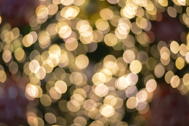 Bokeh turva abstrata ouro luz de fundo