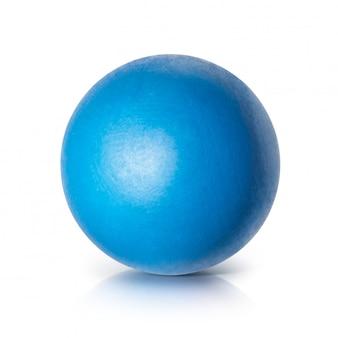 Bola azul brilhante