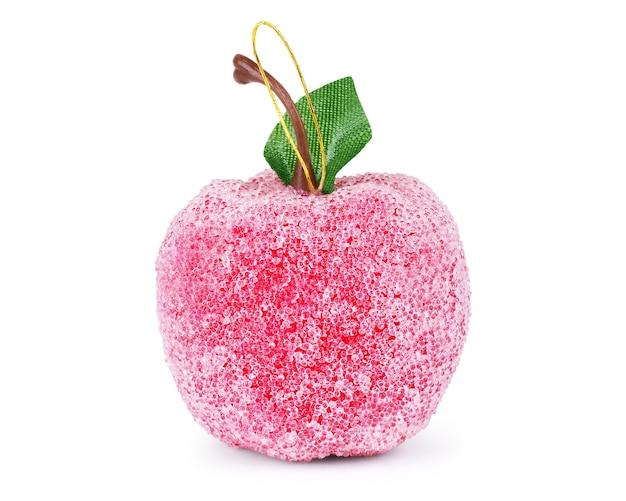 Bola de natal em formato de maçã
