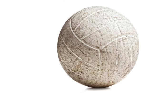 Bola de vôlei usada