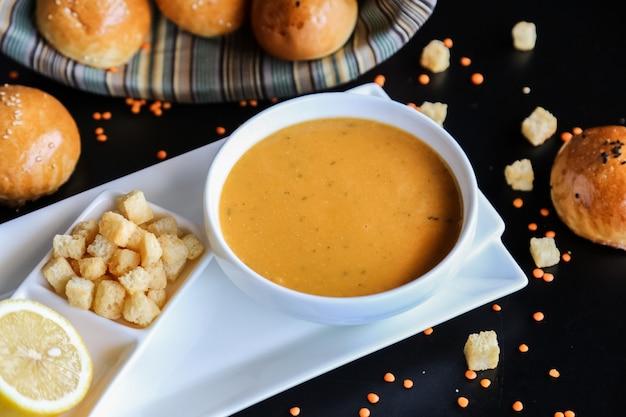 Bolachas de sopa de lentilha