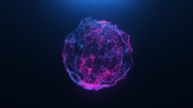 Bolas abstratas de um vírus