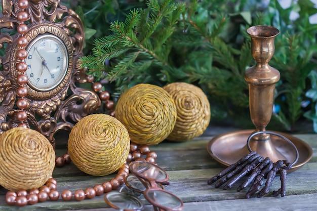 Bolas de decoração de natal