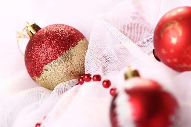 Bolas de natal decorativas