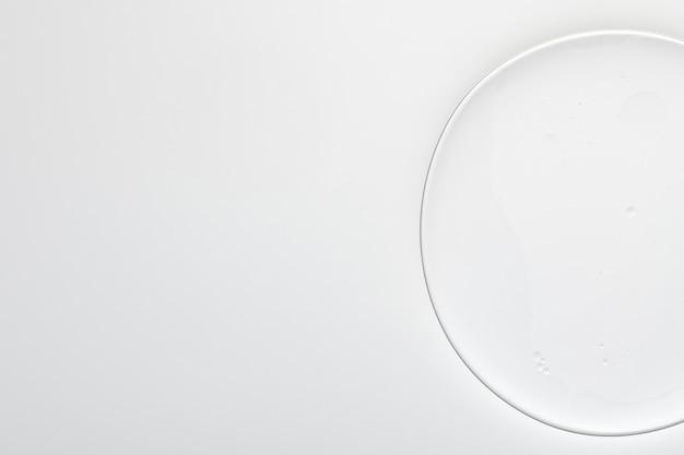 Bolha de óleo de fundo cinza abstrato em papel de parede de água