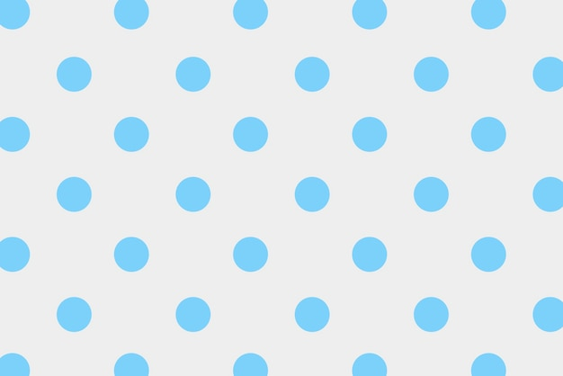 Bolinhas azuis com fundo colorido
