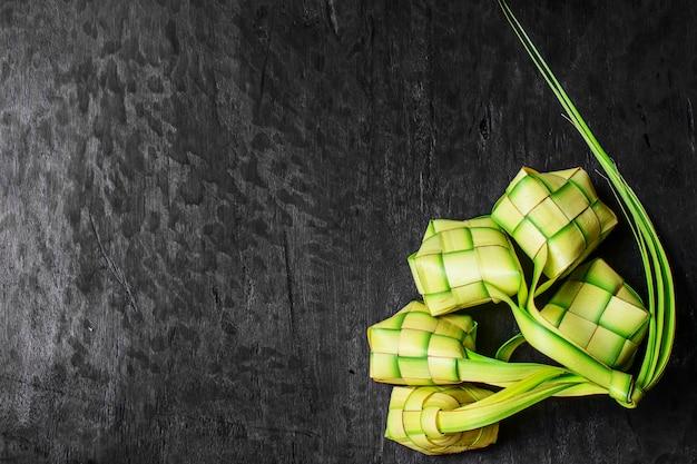 Bolinho de arroz verde
