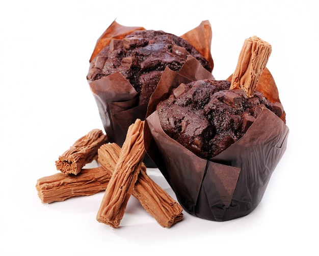 Bolinho de chocolate