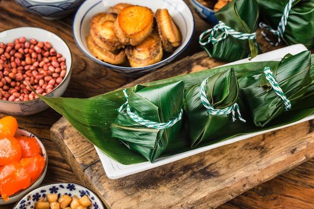 Bolinhos de arroz do dragon boat festival