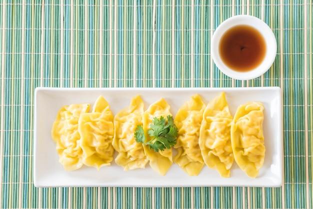 Bolinhos de camarão cozidos com vapor dim sum