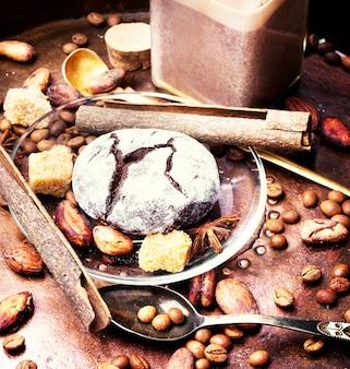 Bolinhos de chocolate café