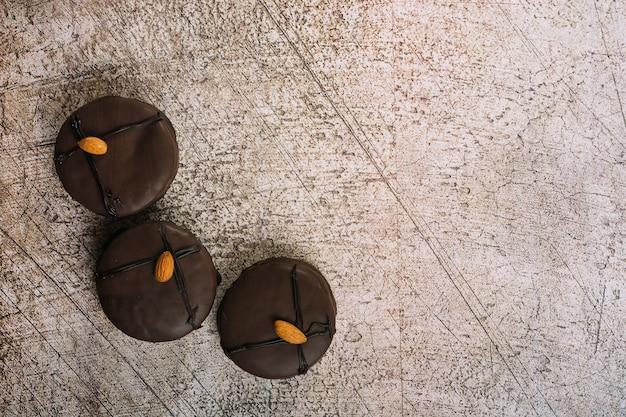 Bolinhos de chocolate deliciosos