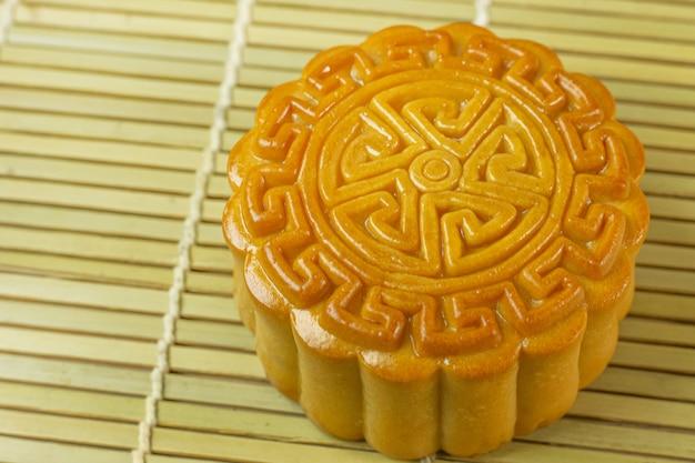 Bolo chinês da lua para o festival do mooncake.