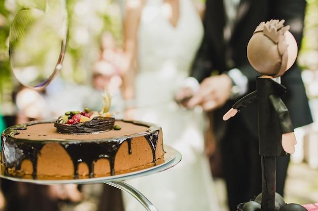 Bolo de casamento real delicioso