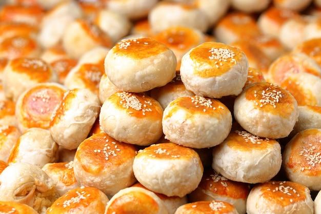 Bolo de chinês tradicional.