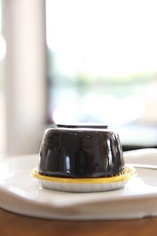 Bolo de chocolate lava