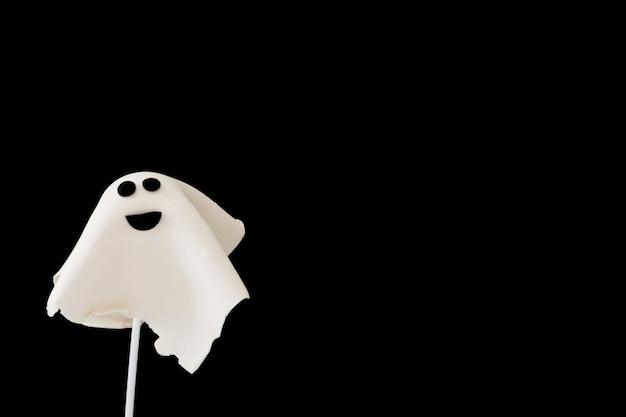 Bolo fantasma de halloween pop
