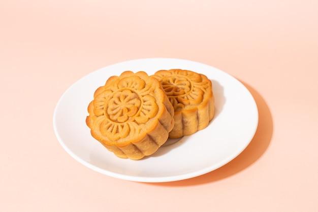 Bolo lunar chinês para o festival do meio outono
