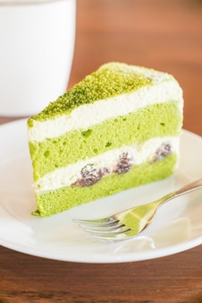 Bolos de chá verde