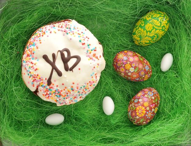 Bolos para páscoa e ovos