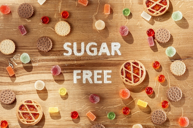 Bolos sem açúcar
