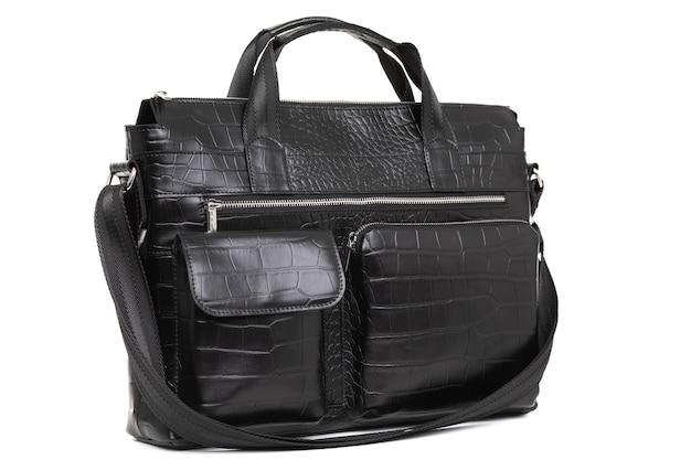 Bolsa de couro genuíno designer para homens