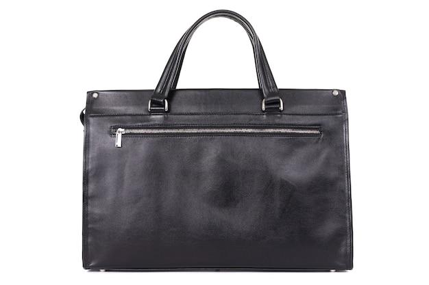 Bolsa de couro genuíno designer para homens Foto Premium