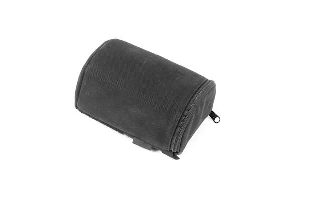 Bolsa de lente preta para câmera