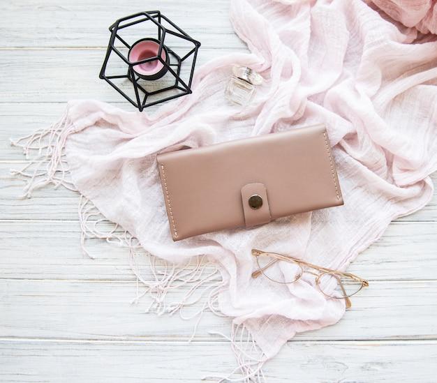 Bolsa rosa mulher