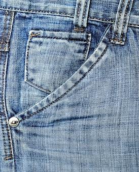 Bolso das calças de brim