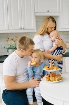 Bom dia com dois filhos